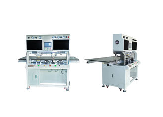 LCD OLED LED Bonding Machine , Heat Bonding Machine Double Heating Heads