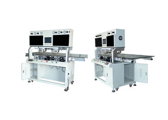 Tab Acf LCD Cof Bonding Machine Double Large Screen Display For LED TV