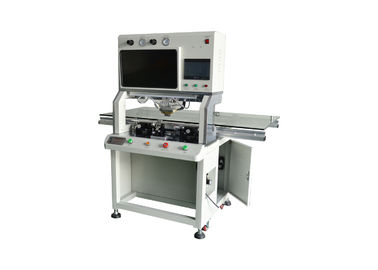 LED LCD Cof Bonding Machine , Tab Bonding Machine For Led TV Plane Precision 0.005 Mm